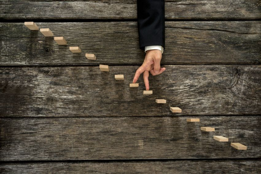 Use business milestones to track and reach your goals.